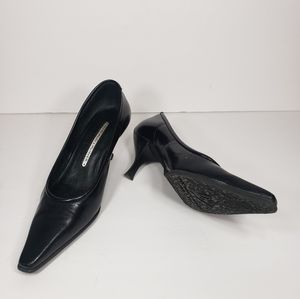 DONALD J PLINNER Lupe leather pointy heels shoe